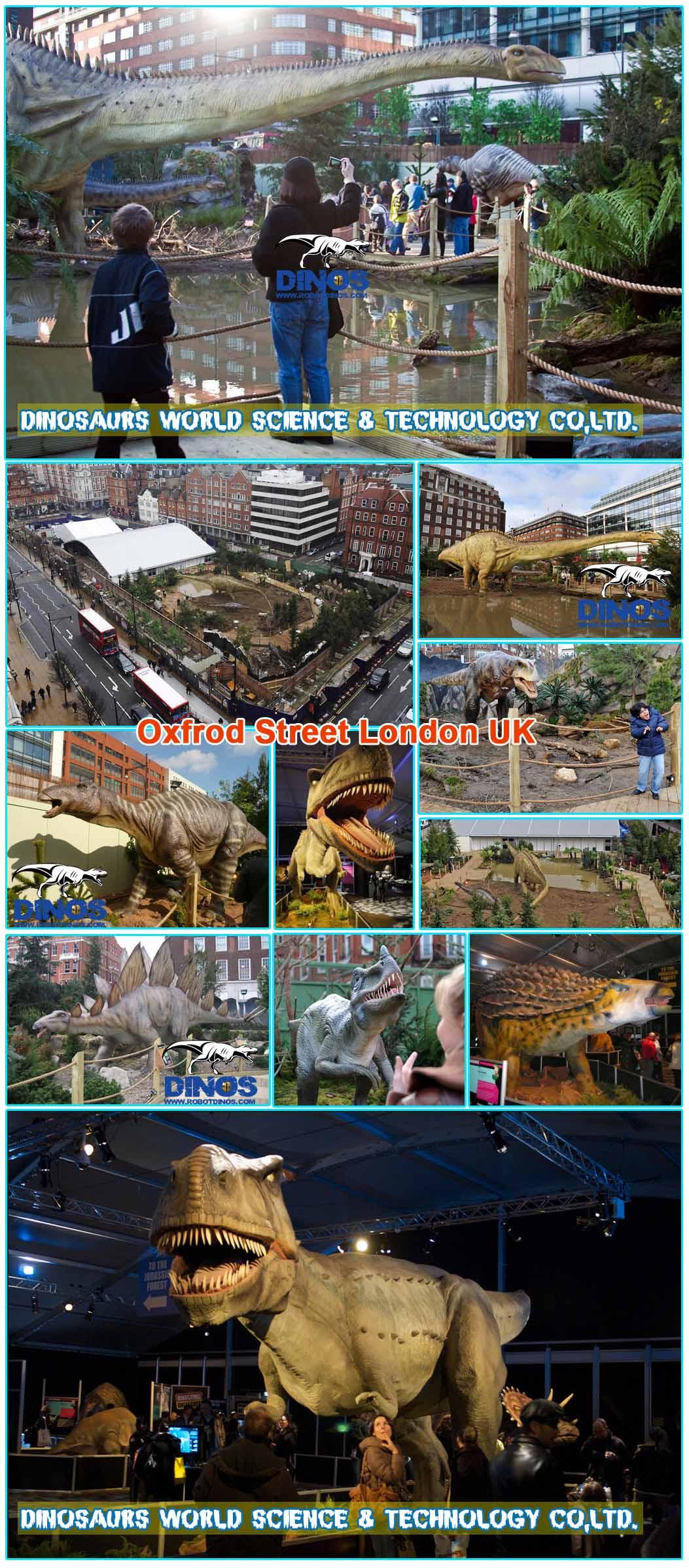 animatronic dinosaurs Czech Republic