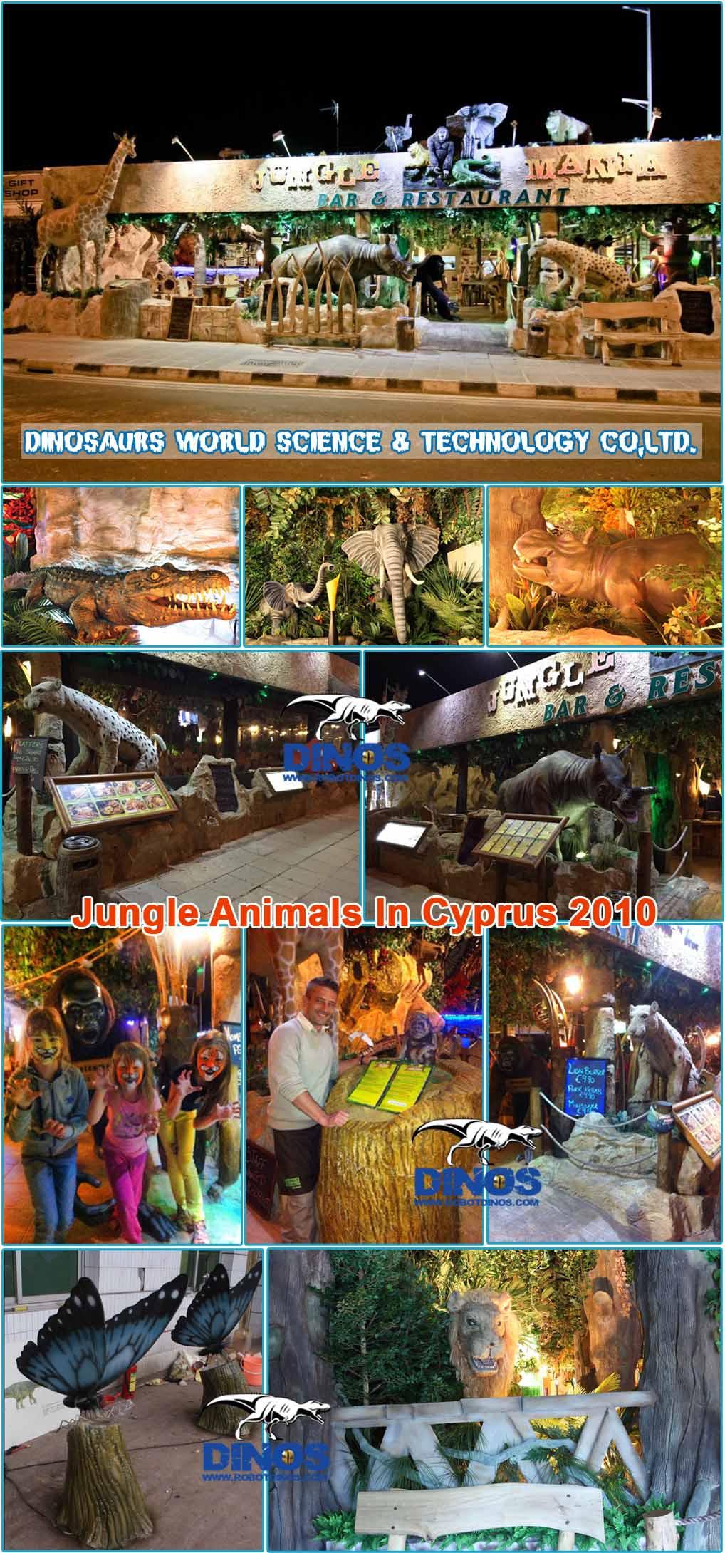 animatronic animal,jungle animal,theme animals