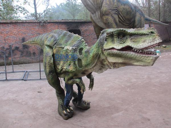 dinosaur costume , walking with dinosaur costume,walking dinosaur,walking robotic dinosaur