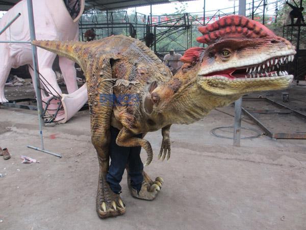 dinosaur costume , walking with dinosaur costume, walking dinosaur costume