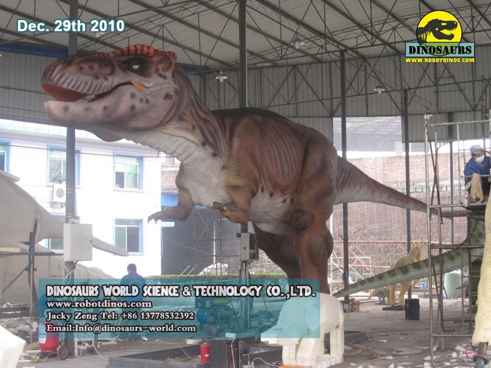 12 Metres Long Animatronic Dinosaur TREX