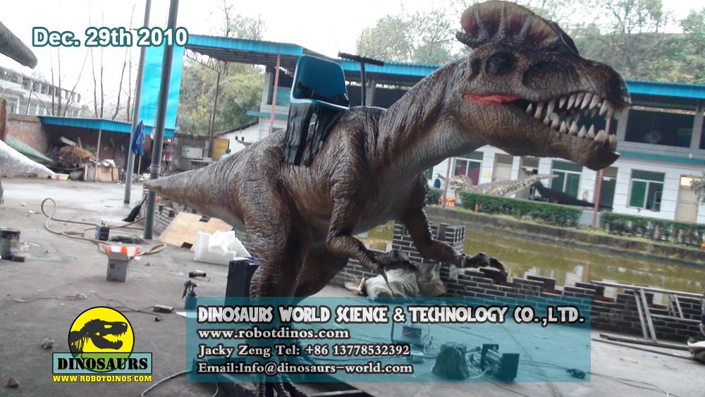 Animatronic Dinosaur DILOPHOSAURUS RIDES (2)
