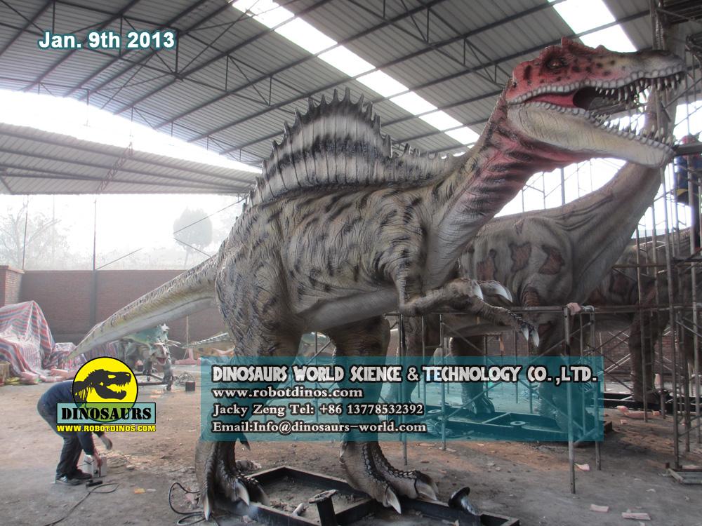 Beautiful Life Size Dinosaur Spinosaurus
