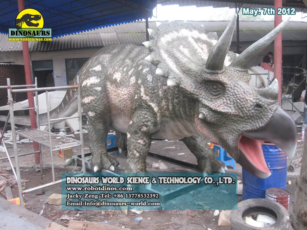 Big Fiberglass Dinosaurs - Triceratops