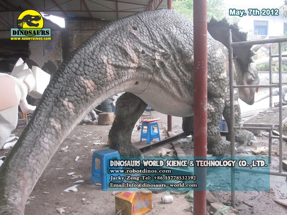 Big Fiberglass Triceratops