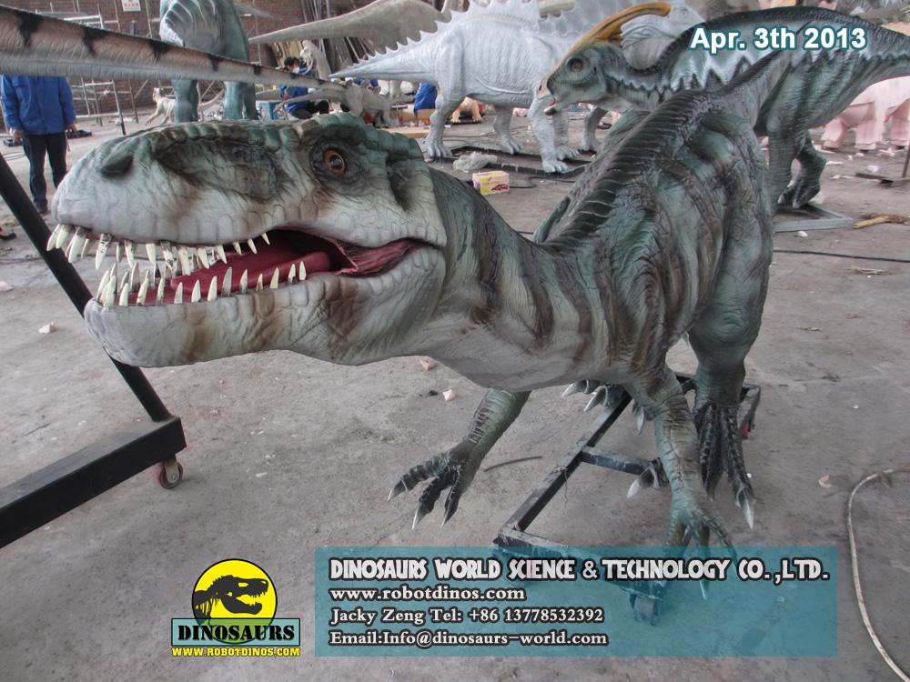 DWD006-2 Animatronic Dinosaur Coelophysis