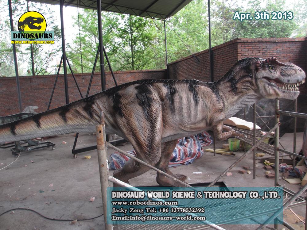 DWD023-3 Fiberglass Dinosaur Tyrannosaurs Rex