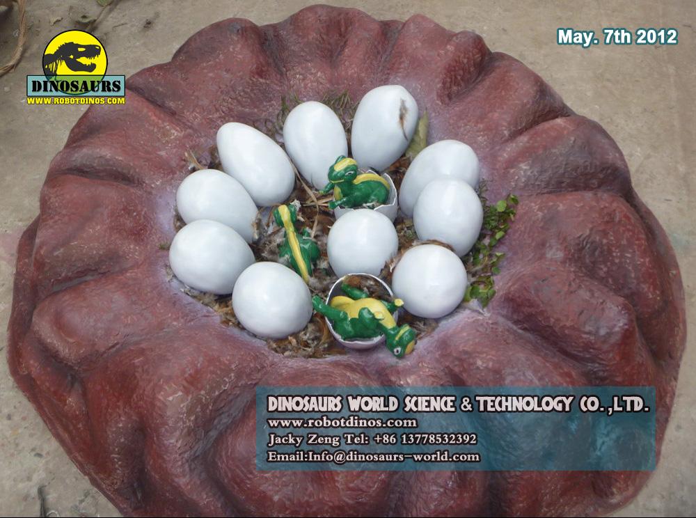 Fiberglass Dinosaur Nest