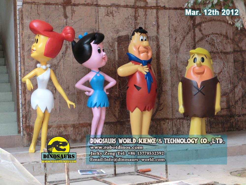 Good Friends Team Flintstones Characters