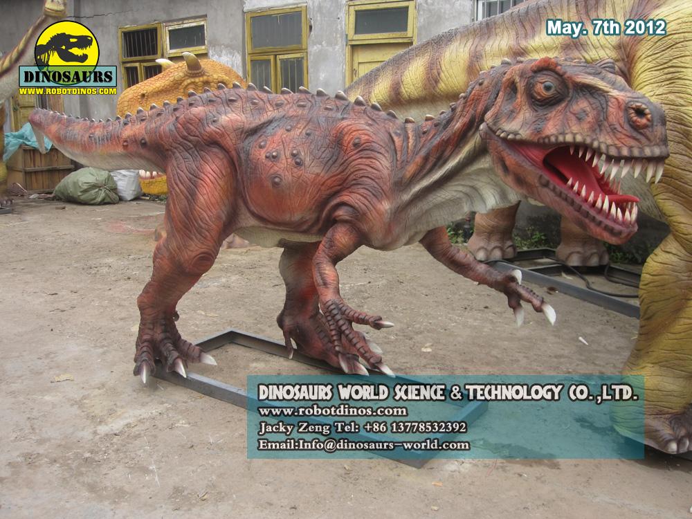 Realistic Fiberglass Dinosaur Piatnitzkysaurus