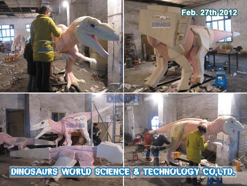 Sponge Working For Animatronic Dinosaurs