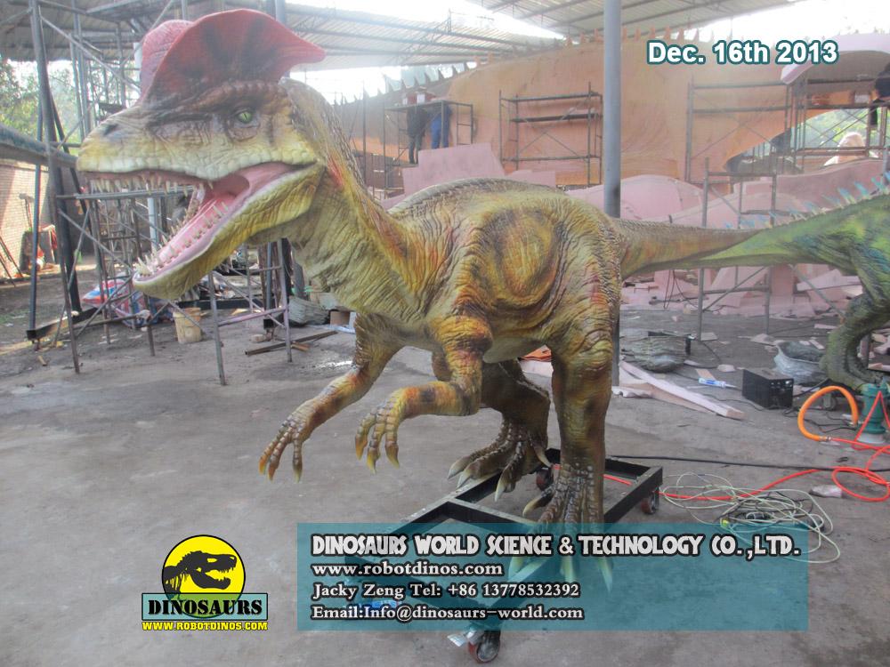 Animatronic Spitting Dilophosaurus Dinosaurs