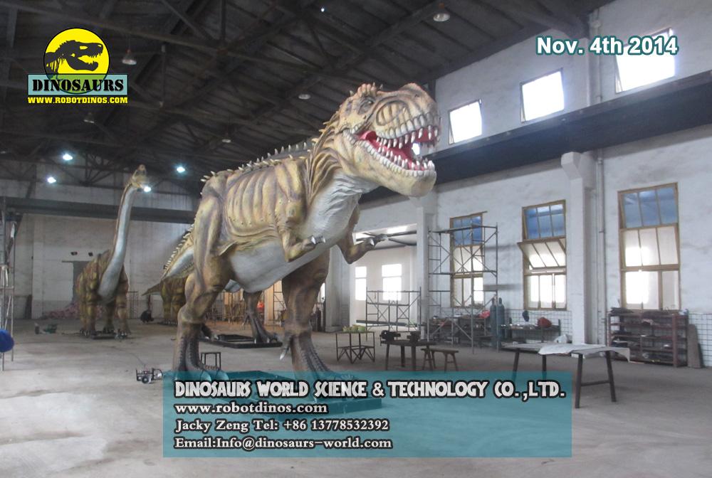 Big Robotic Dinosaur T-Rex