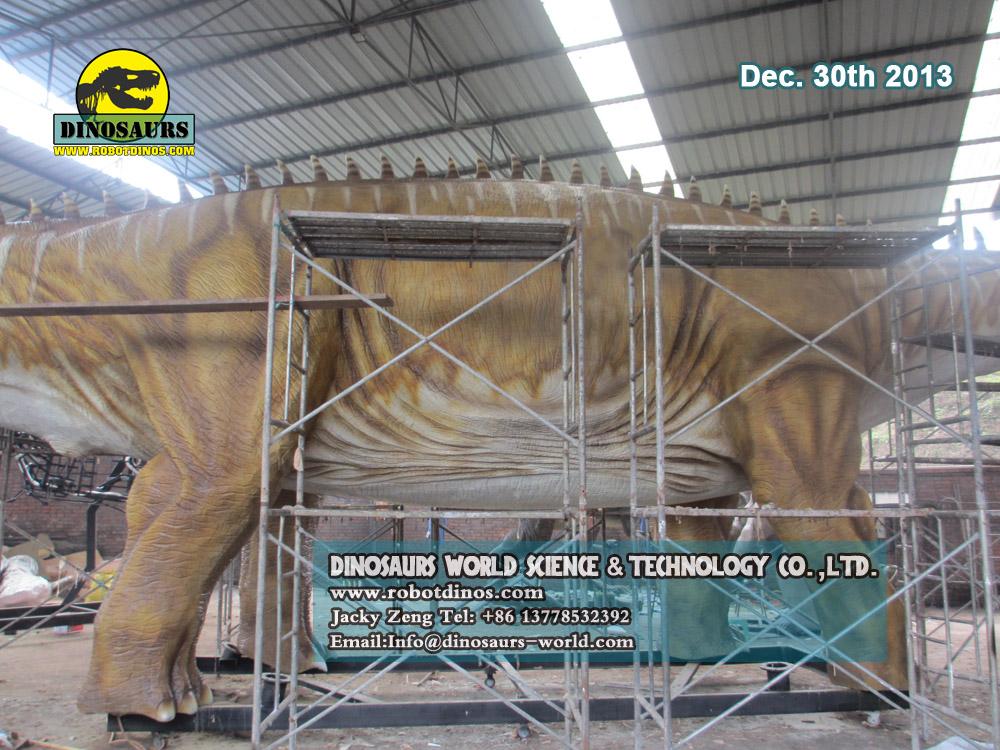 Biggest Animatronic Dinosaur - Diplodocus
