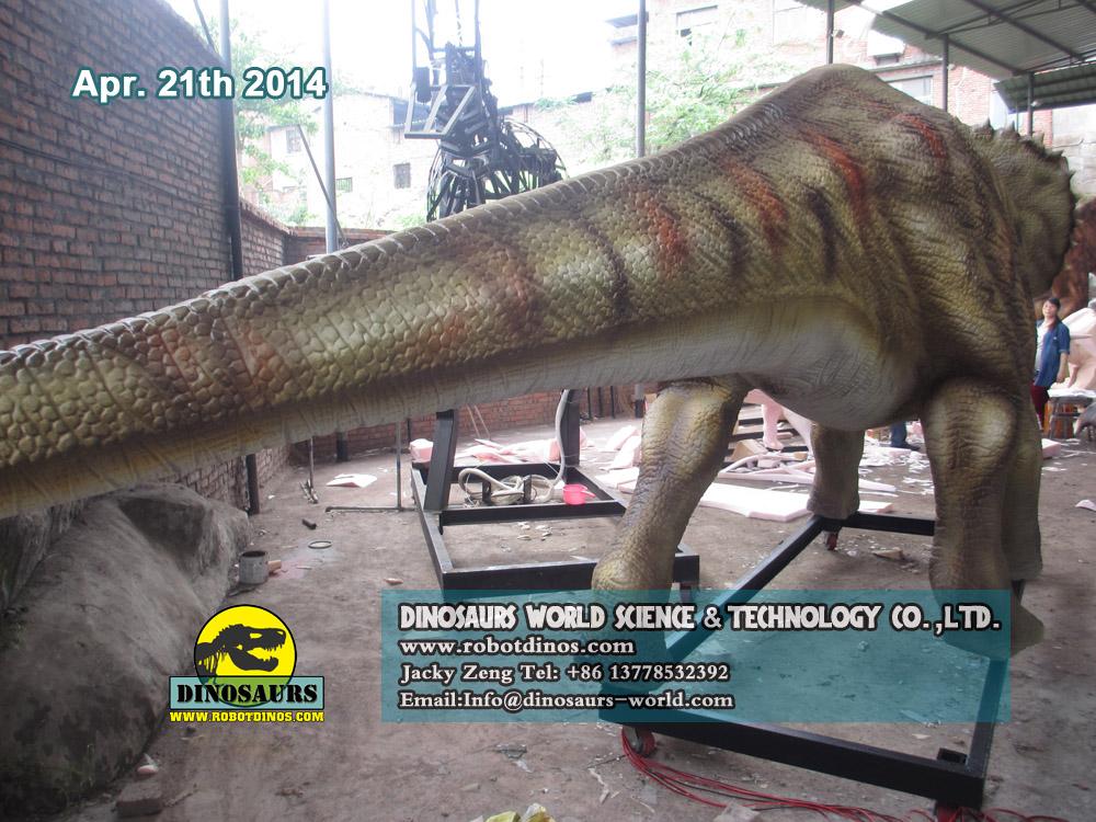 DWD038-3 Triceratops Robotic Dinosaur