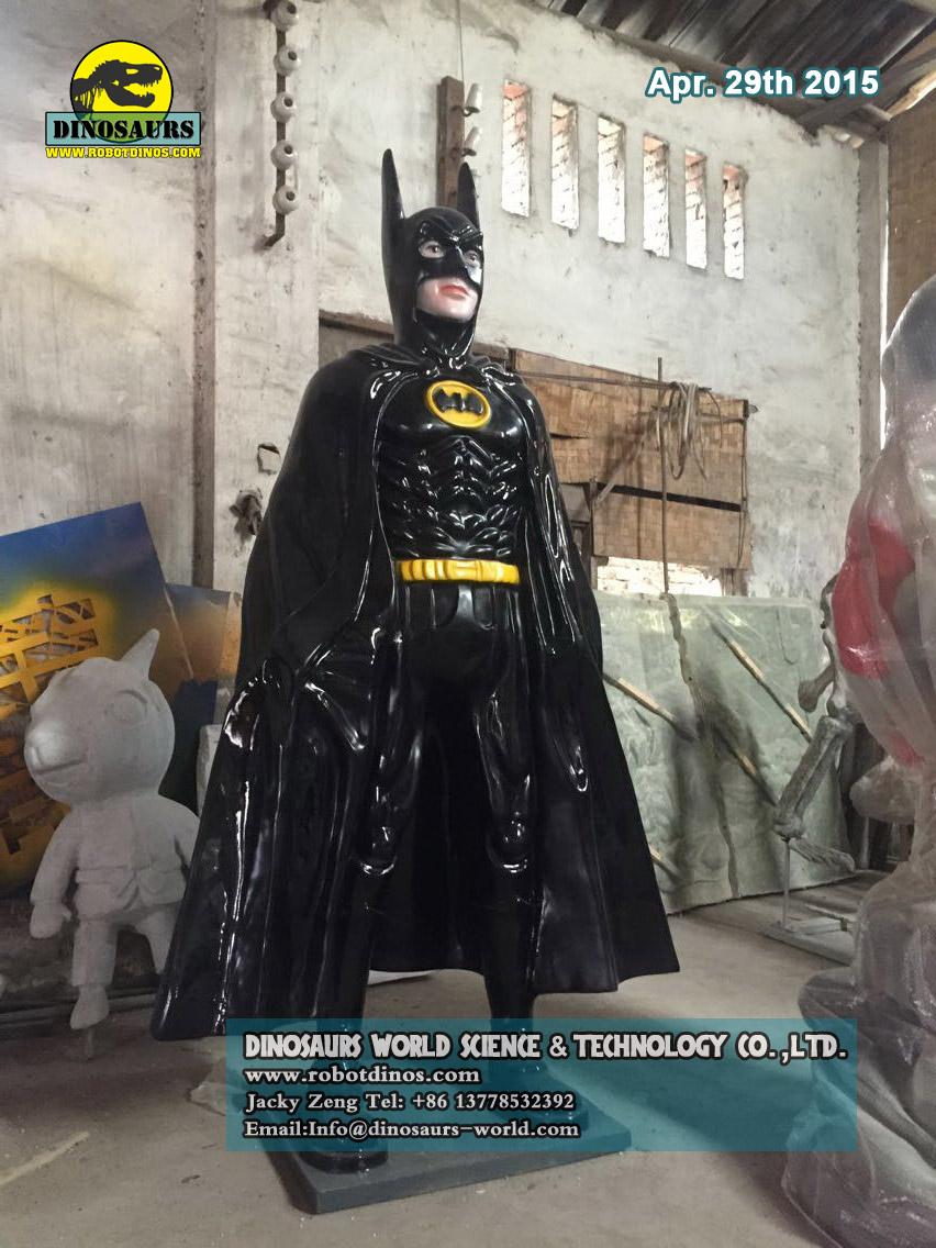 Fiberglass Comic Characters Batman