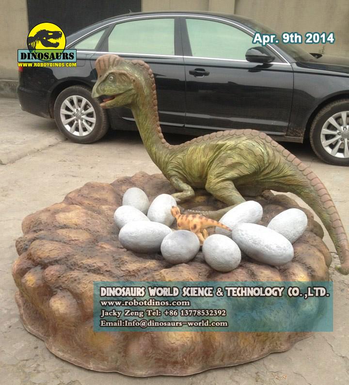 Fiberglass Dinosaur Oviraptor