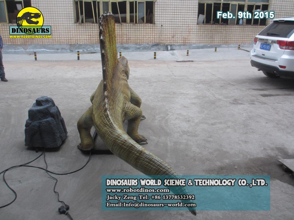 Prehistorical Animals Dimetrodon