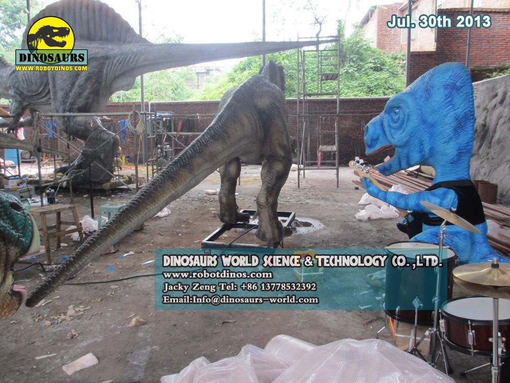 Realistic Alive Looking Dinosaur Tyrannosaurus Rex