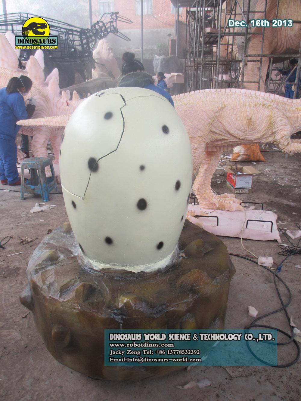 Robotic Dinosaur Egg