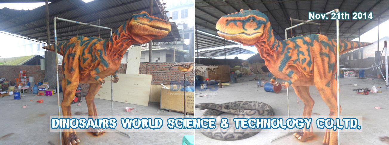 T-Rex odijelo izgleda vrlo dobro nakon bojanja u boji