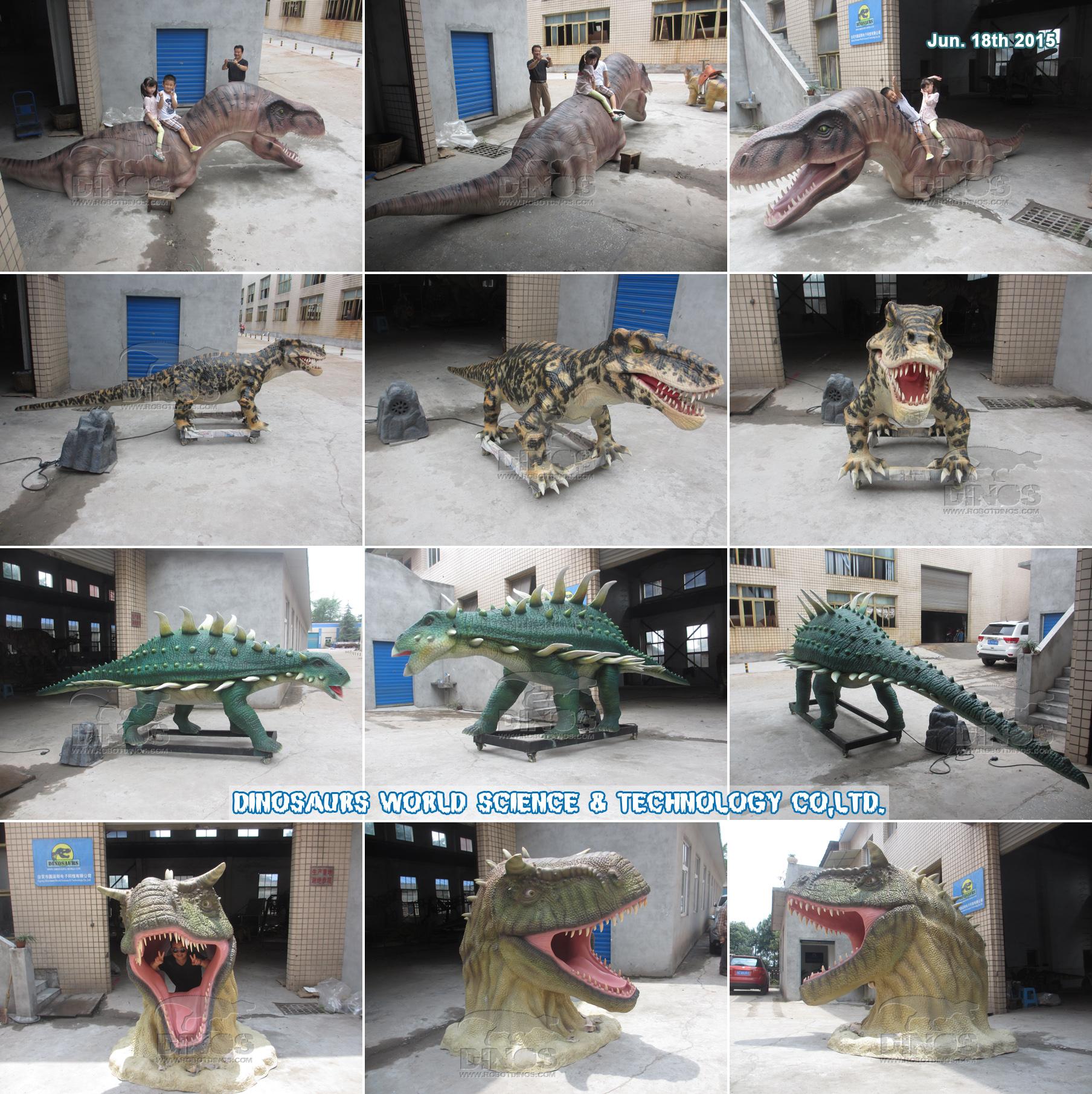 Svi su dinosauri završili u tvornici, 18. lipnja 2015