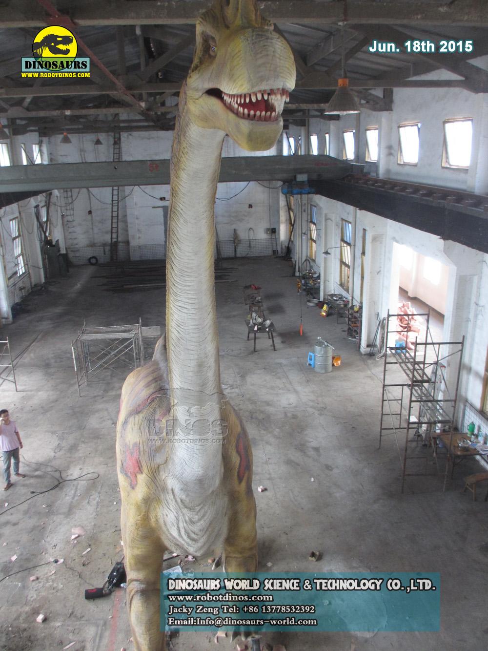 Robotic Dinosaur Brachiosaurus
