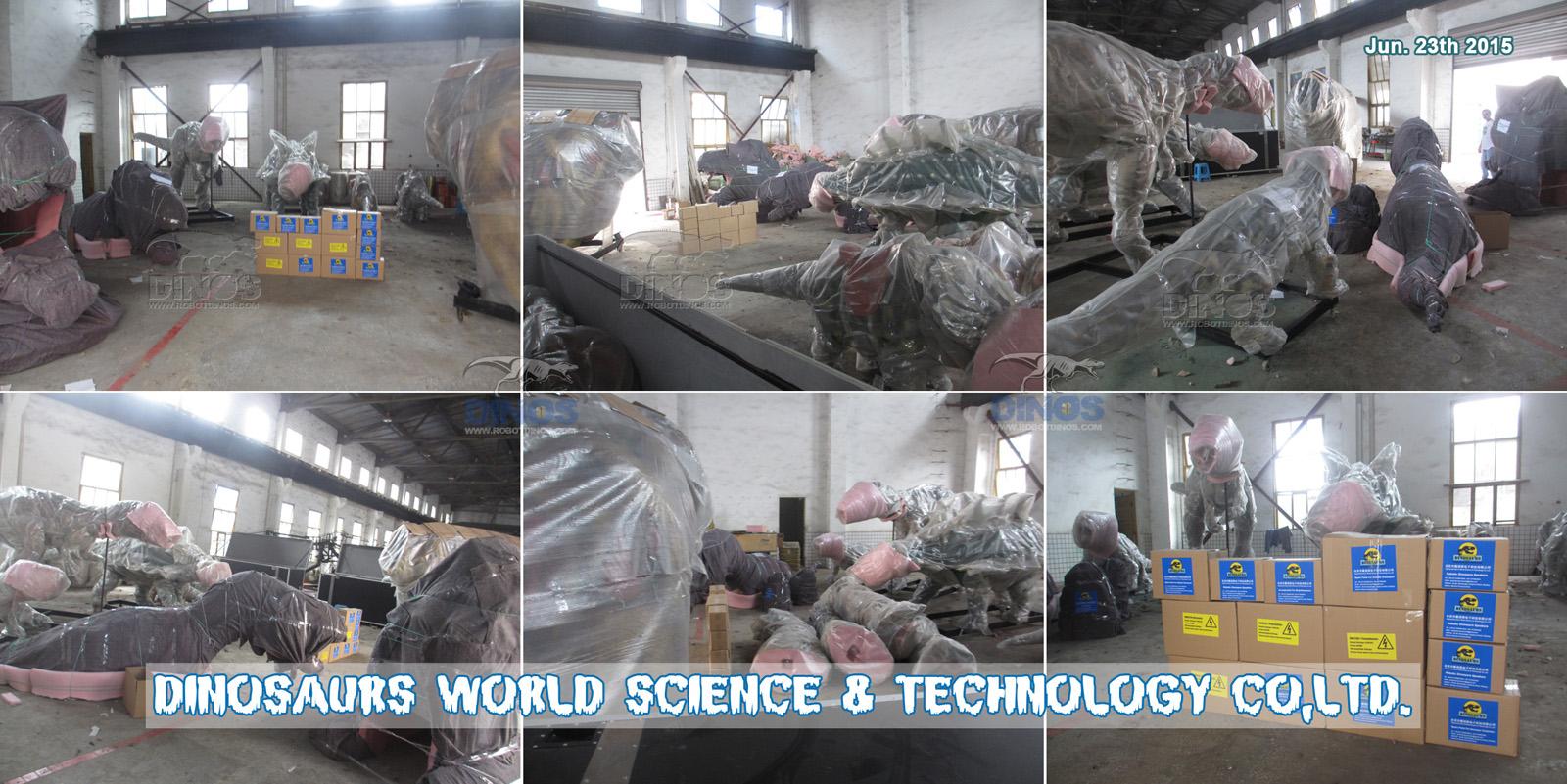 Sigurnost i profesionalno pakiranje za sve modele dinosaura 23. lipnja 2015