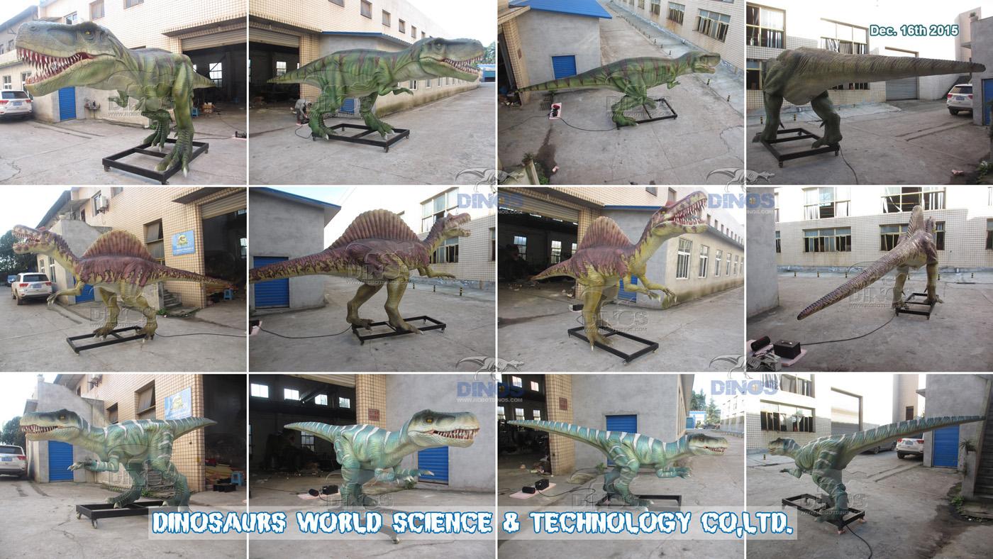 Animatronic dinosauri gotovi u tvornici za kupca u Meksiku