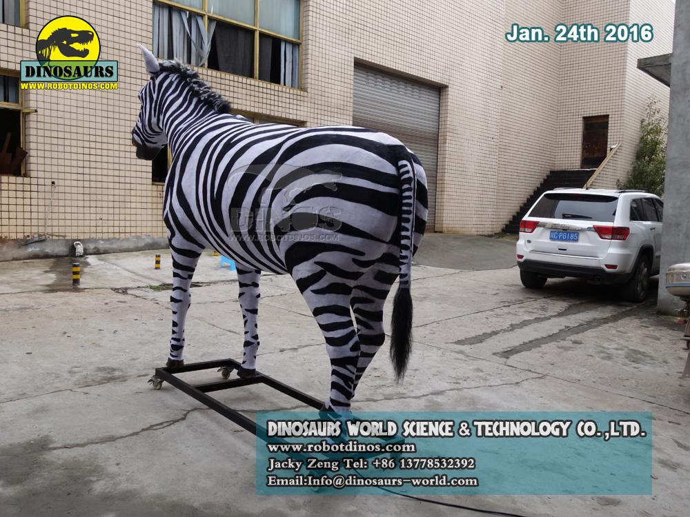 Animatronska životinjska zebra