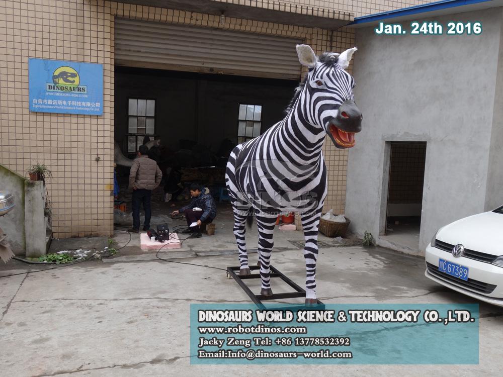 DWA119 Animatronic Zebra