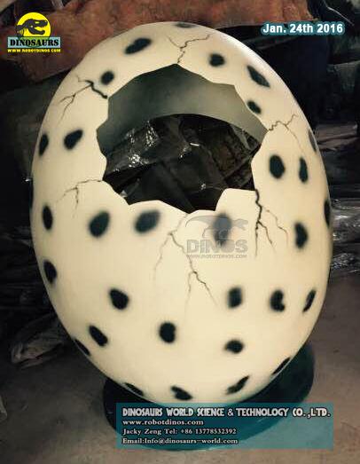 Jaje dinosaura od stakloplastike za djecu