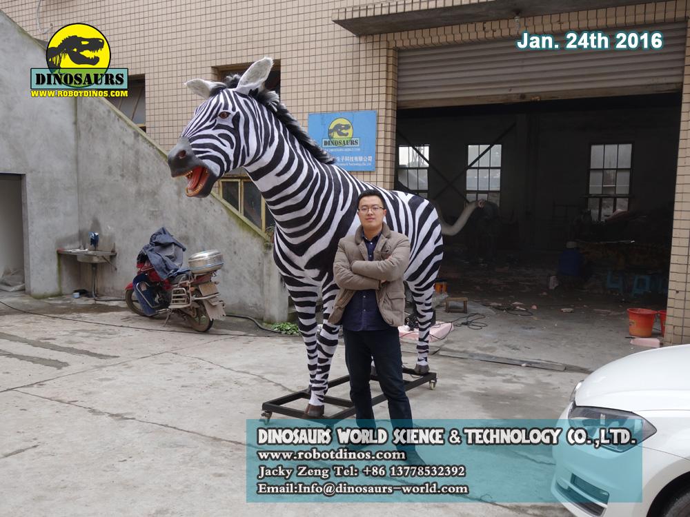 Life Size Zebra