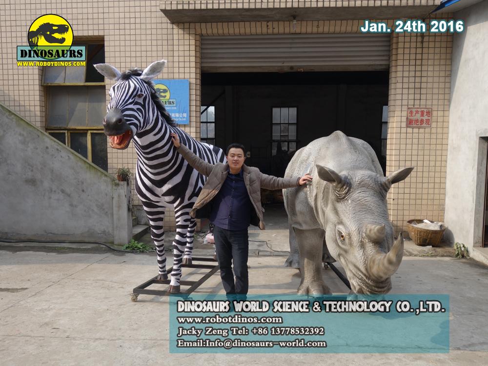 Nosorog i Zebra su uvijek prijatelji?