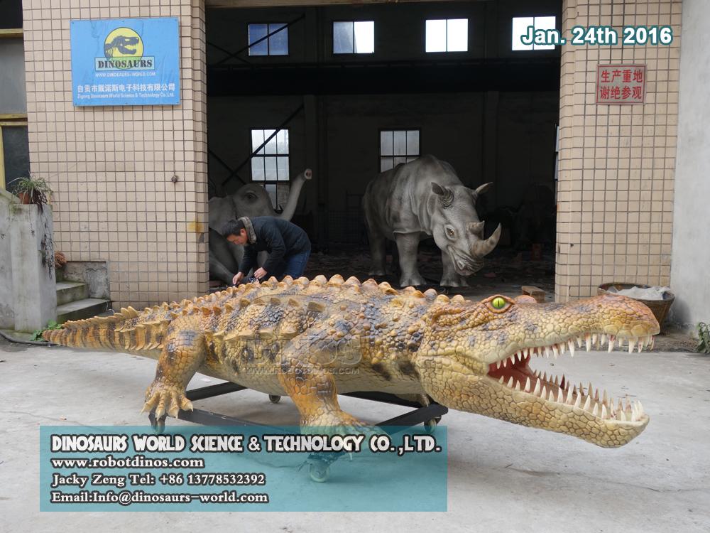 Robotski životinjski krokodil