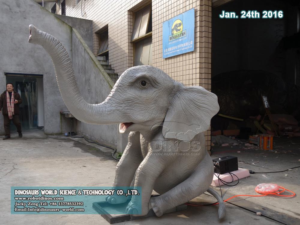 Robotic Baby Elephant