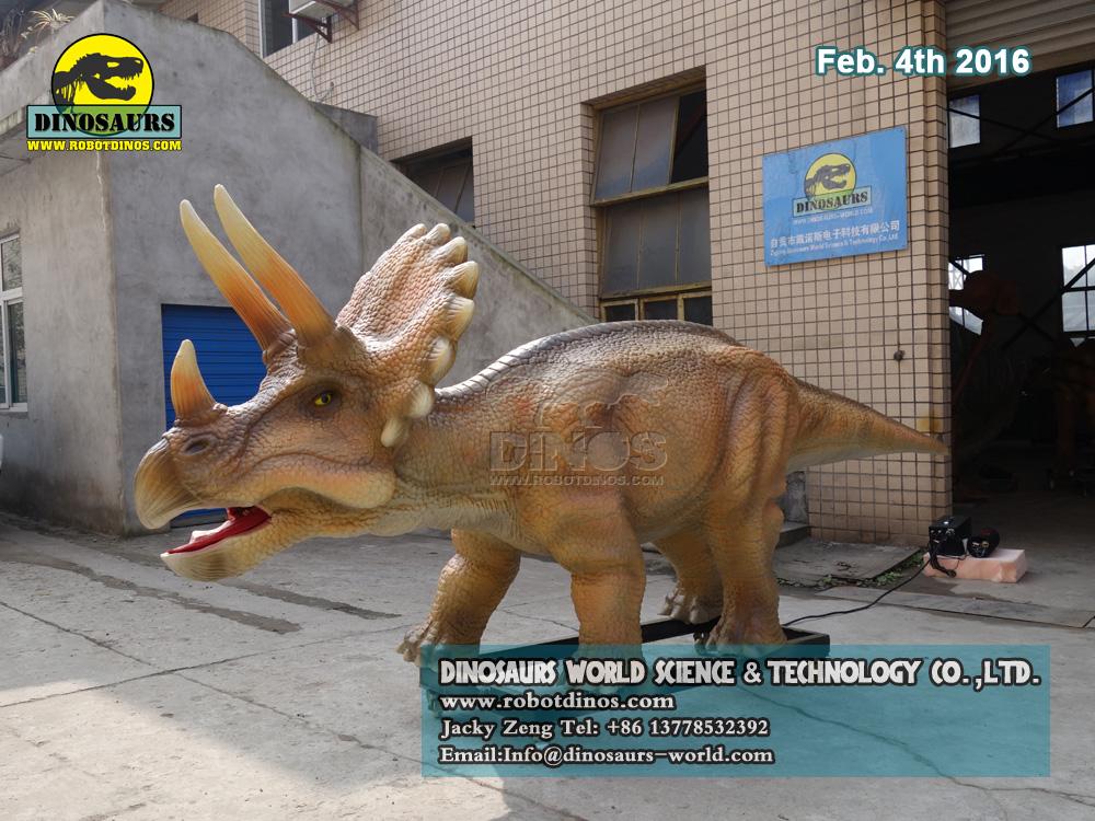DWD083 Animatronic Dinosaur Baby Triceratops