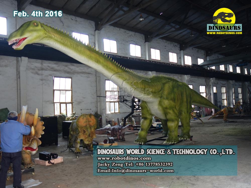 DWD1329-1 Dinosaur Models , Static Young Diplodocus