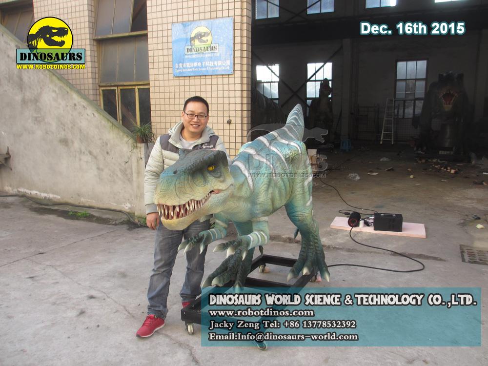 DWD210 Animatronic Dinosaur Deinonychus