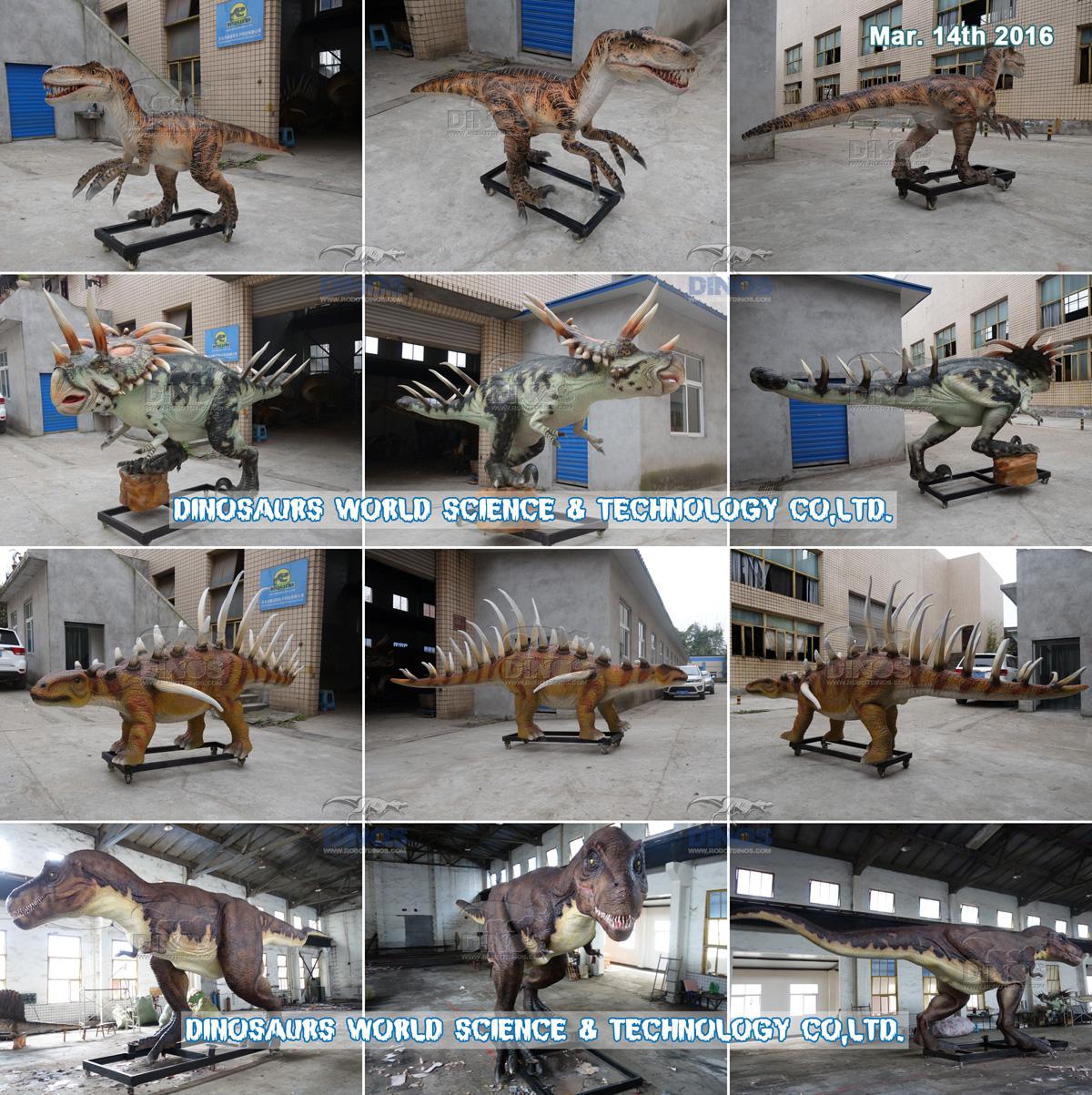 animatronic dinosaurs,fiberglass dinosaurs