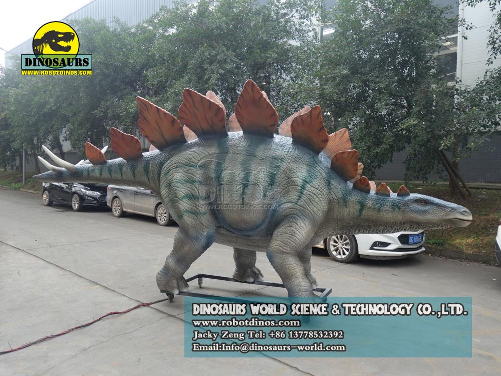 DWD241 Animatronic Dinosaur Model Stegosaurus