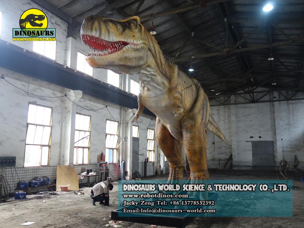 playground equipment huge tyrannosaurus rex