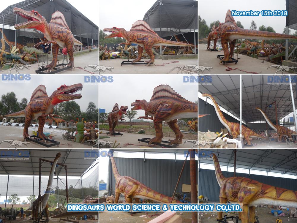 Dinosauri su završeni u tvornici 15. studenog 2018
