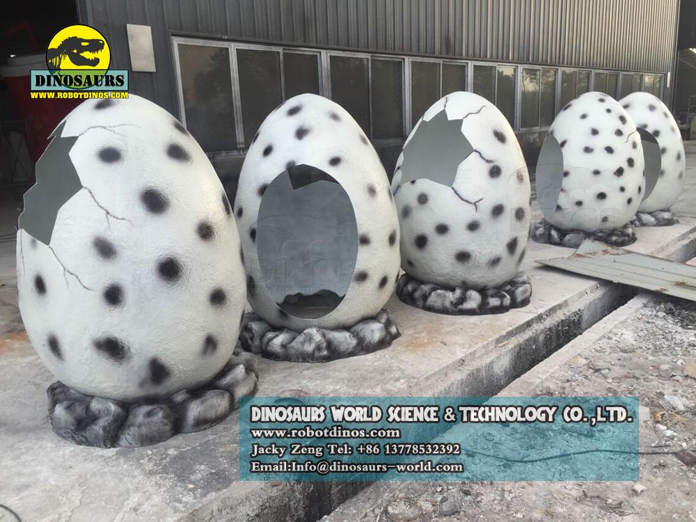 Fiberglass Dinosaur Egg Shell