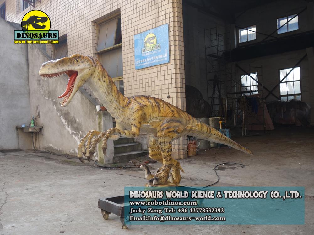 Velociraptor Skin Version outdoor playground dinosaur exhibition