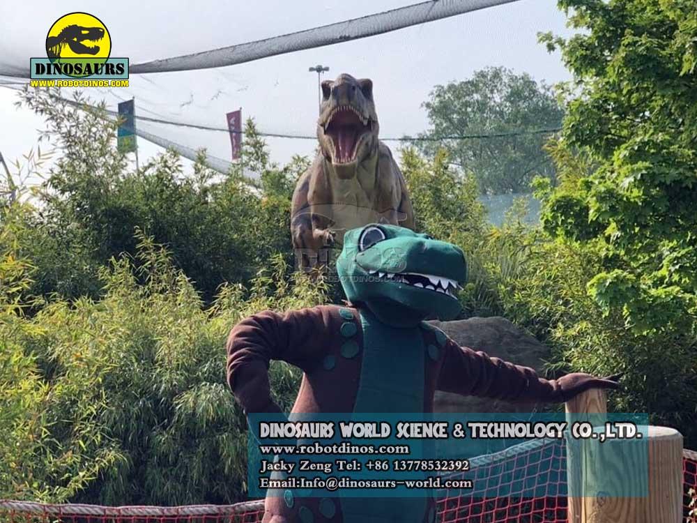 Animatronic Dinosaurs Young Tyrannosaurs Rex in uk23