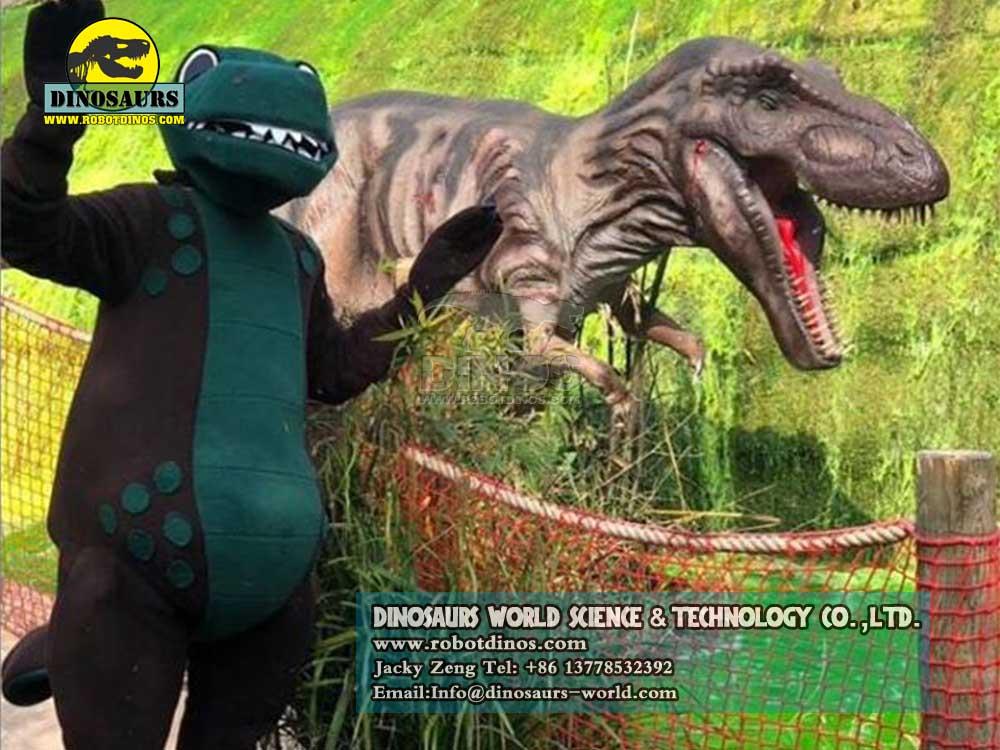 Animatronic Dinosaurs Young Tyrannosaurs Rex in uk3