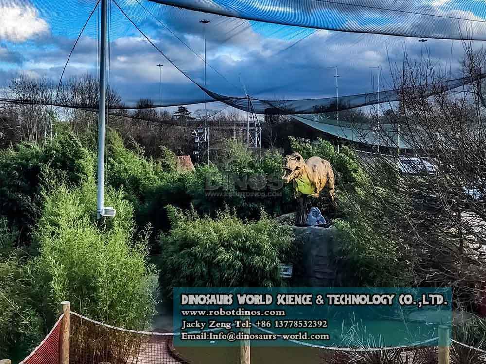Animatronic Dinosaurs Young Tyrannosaurs Rex in uk4