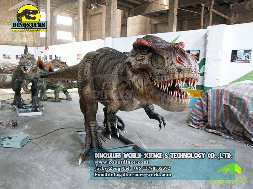DWD023-7 Animatronic Dinosaurs Young Tyrannosaurs 2