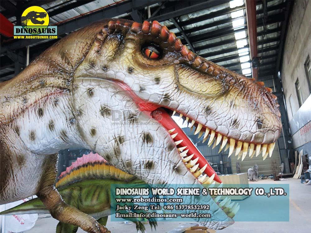 DWD023-7 Animatronic Dinosaurs Young Tyrannosaurs 323